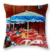 Rue Prince Arthur Throw Pillow