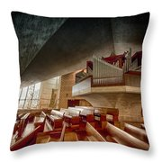 Ruffatti Organ Throw Pillow