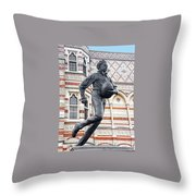 Rugby's Founder William Webb Ellis Throw Pillow