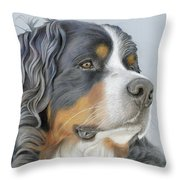 Regal And Relaxed Throw Pillow