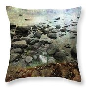 Rugged Peace Throw Pillow