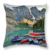 Rugged Relaxation Throw Pillow