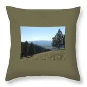 Rugged Serenity Throw Pillow