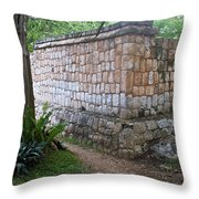 Ruins Chichen Itza 1 Throw Pillow