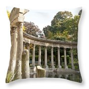 Ruins In The Park Throw Pillow