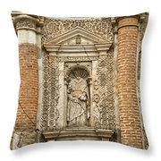 Ruins Of Antigua Guatemala Throw Pillow