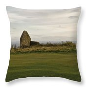 Ruins Of Hospice. Throw Pillow