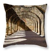 Ruins Of San Jose Throw Pillow