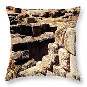 Ruins Of Zippori Throw Pillow