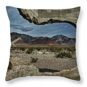 Look Past The Broken To See The Beauty Throw Pillow