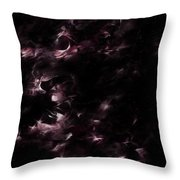 Rulers Of The Night Throw Pillow