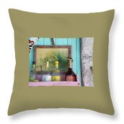 Rum Shack Bananaquit Throw Pillow