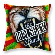 Rum Shack Roaring Lion Throw Pillow