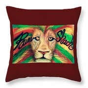 Rum Shack Zen Lion Throw Pillow
