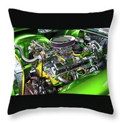 Rumble Engine Throw Pillow