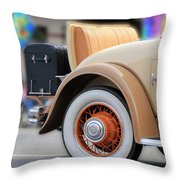 Rumble Seat Throw Pillow