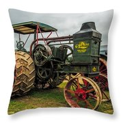 Rumley Oil Pull II Throw Pillow