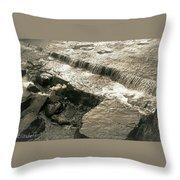 Runing Water Throw Pillow