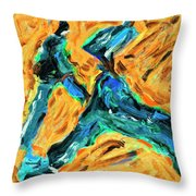 Runners 2 Throw Pillow
