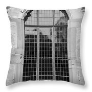Ruprechtsbau Window B W Throw Pillow