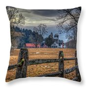 Rural America Throw Pillow by Everet Regal