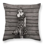 Rural Fashion Throw Pillow