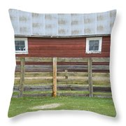 Rural Patterns Throw Pillow