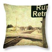 Rural Retreat Throw Pillow