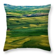 Rural Tapestry Throw Pillow