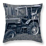 Rural Vehicle Throw Pillow