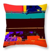 Rushing To Nowhere Throw Pillow