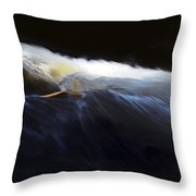Rushing Water 0480a Throw Pillow