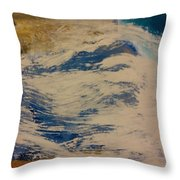 Rushing Waters Throw Pillow by Gregory Dallum