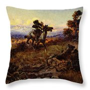 Russell Charles Marion The Stranglers Throw Pillow