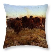 Russell Charles Marion The Surround Throw Pillow