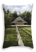 Russell-colbath Historic Homestead - White Mountains Nh Throw Pillow