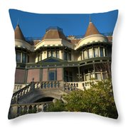 Russell Cotes Gallery And Museum Throw Pillow