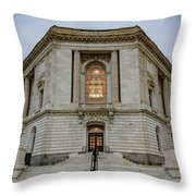 Russell Senate Office Building Throw Pillow