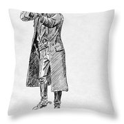 Russell: Stage Robber Throw Pillow