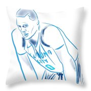 Russell Westbrook Resting Throw Pillow