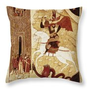 Russia: Icon Throw Pillow