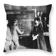 Russia: Students, 1917 Throw Pillow