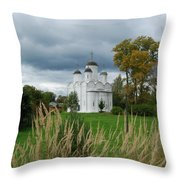 Russian Orthodox Church Throw Pillow