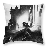 Russian Revolution, 1917 Throw Pillow