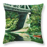 Russian River Throw Pillow