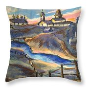 Russian View Throw Pillow