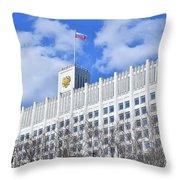 Russian White House Throw Pillow