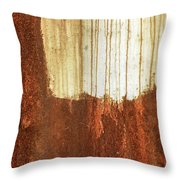 Rust 01 Throw Pillow