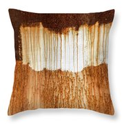 Rust 03 Throw Pillow