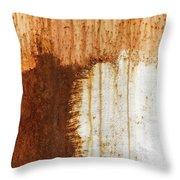 Rust 05 Throw Pillow